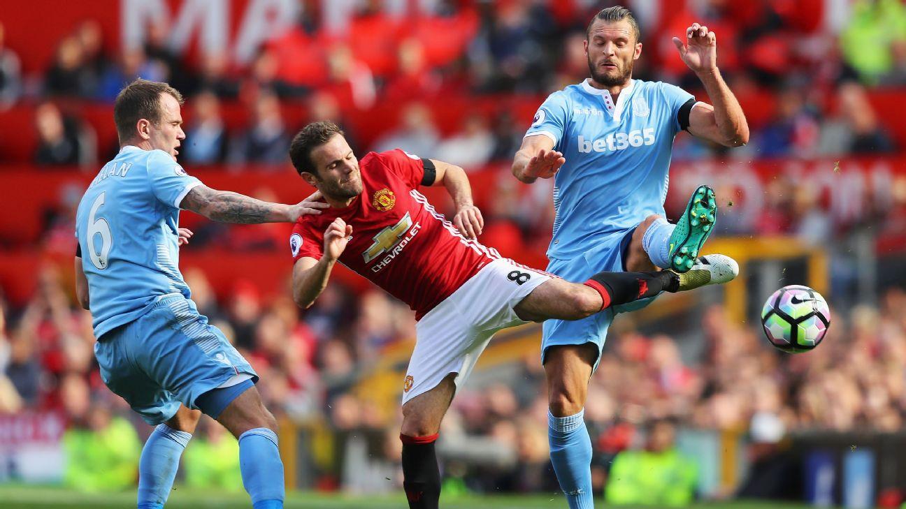 Resilient Stoke Peg Back Wasteful Man United