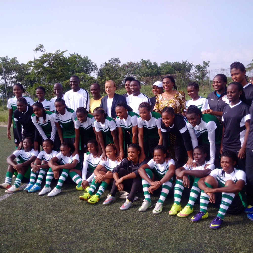 Falconets To Face Confluence Queens In U-20 WWC Friendly