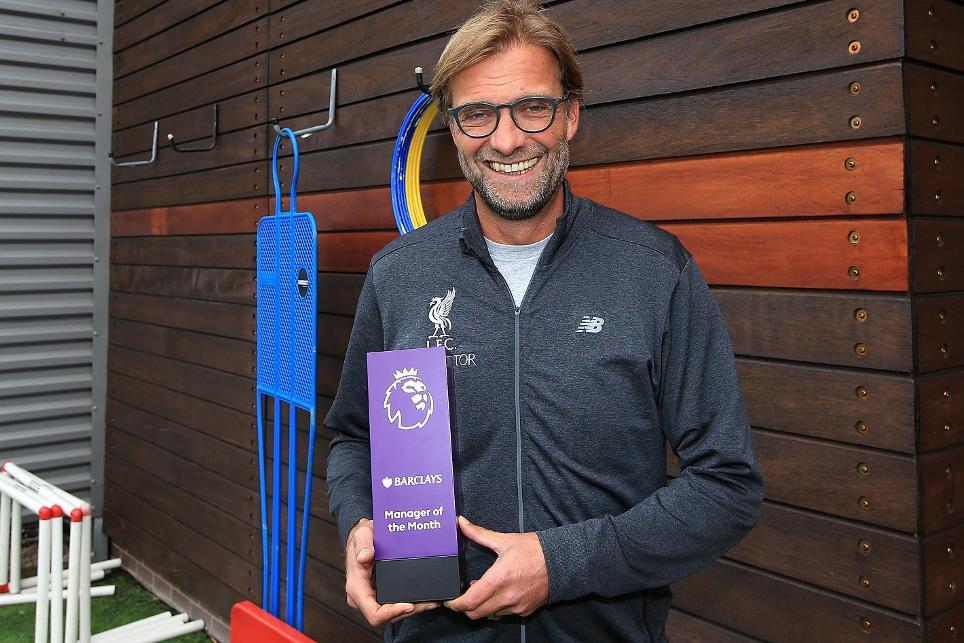 Klopp Beats Wenger, Pep To September EPL Manager Award