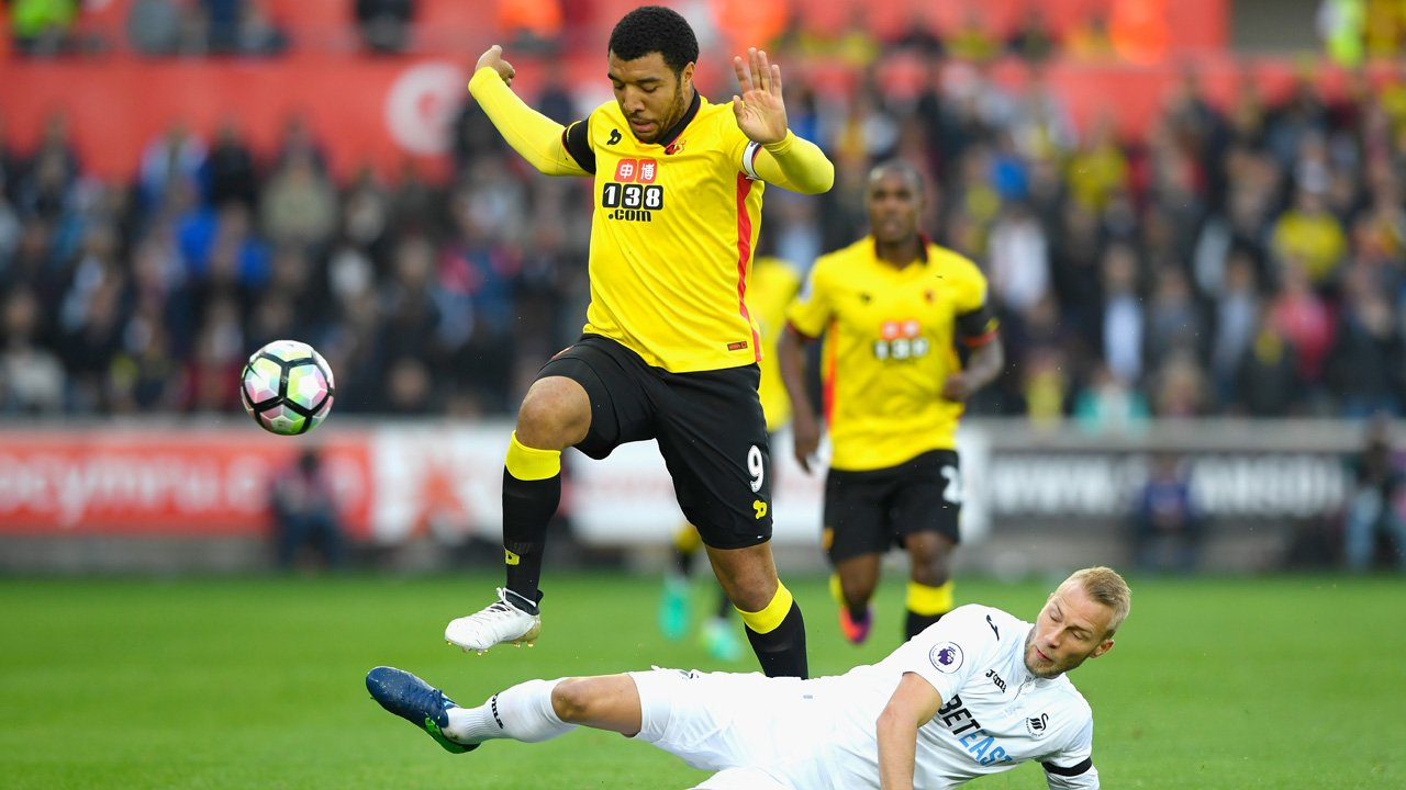 Swansea Boss Bradley: Ighalo, Deeney Difficult To Play Against