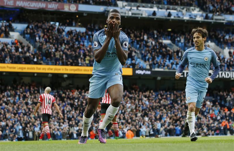 Iheanacho Saves Struggling Man City From Southampton Defeat