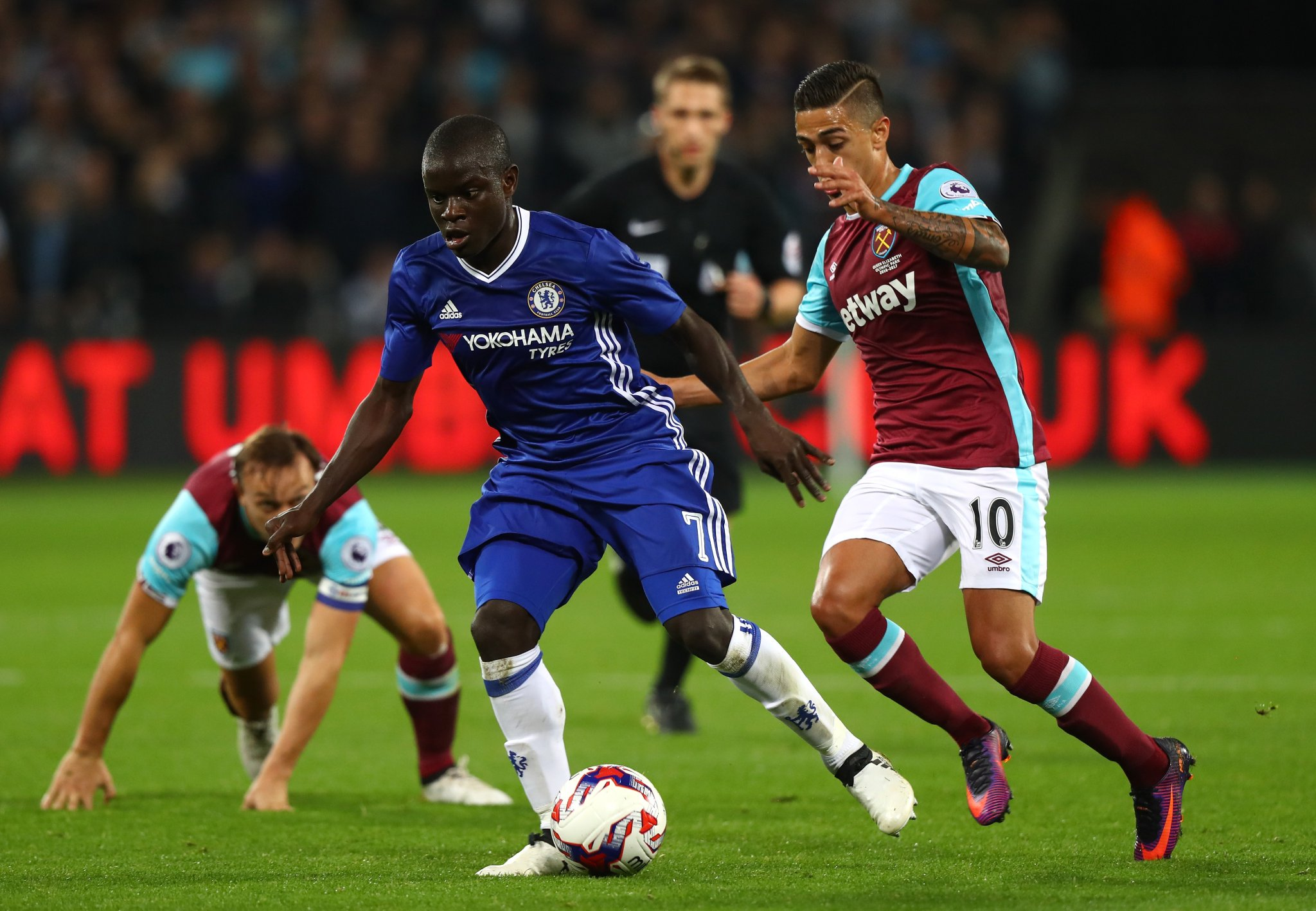 EFL Cup: Mikel, Moses Missing As Chelsea Fall To West Ham