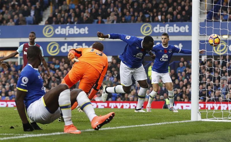 Lukaku Scores Again As Everton Beat West Ham
