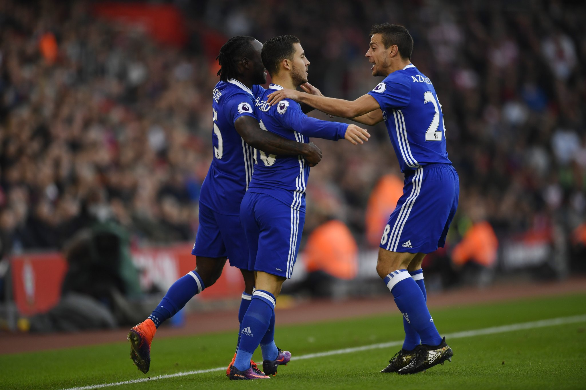 Conte Pleased With Chelsea Win, Stunned By Moses' Defensive Qualities