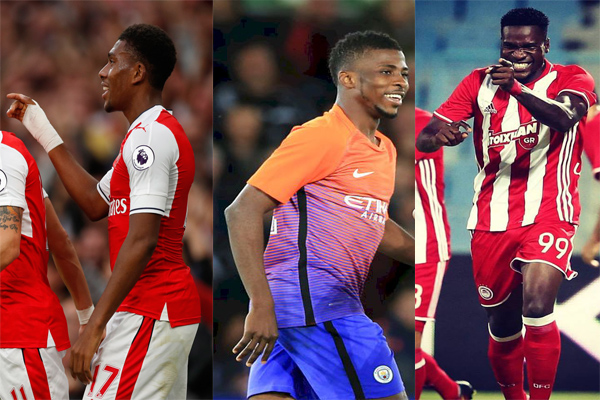 Iwobi, Iheanacho, Ideye Up For Complete Sports September Player Of The Month