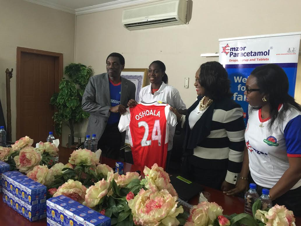 Oshoala Signs Emzor Deal, Backs Flamingoes To Bounce Back