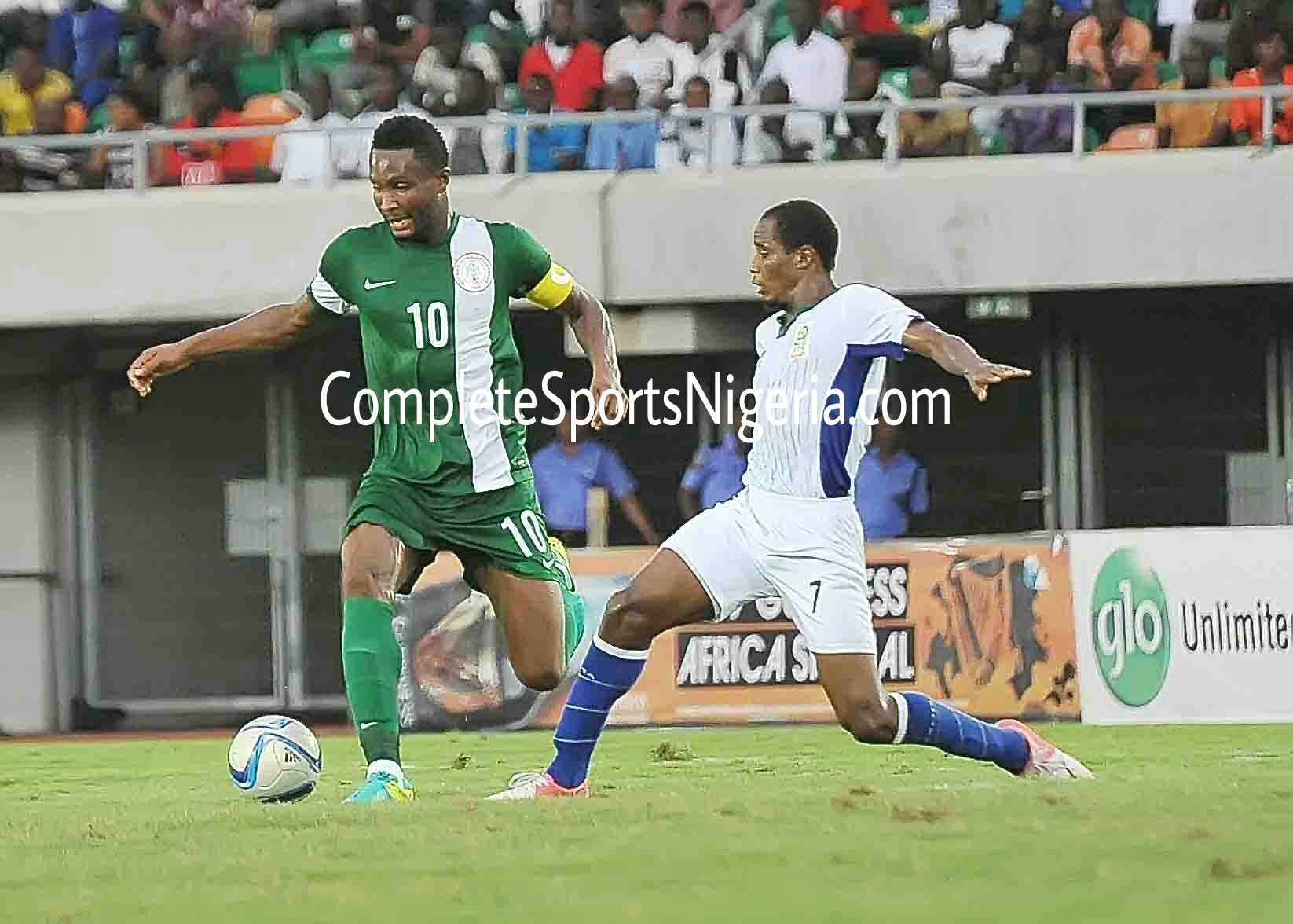 Eagles To Play Plateau Friendly, Mikel Promises Saraki Victory Over Zambia