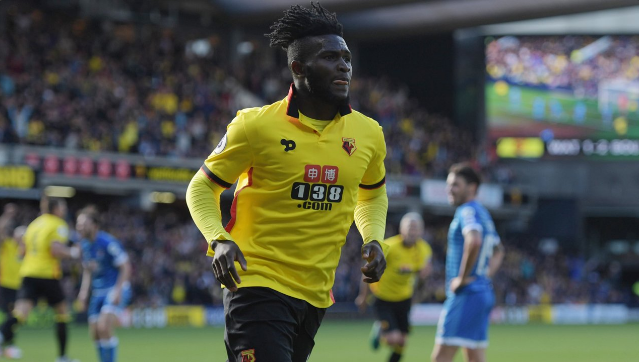 Success Celebrates First Watford Goal, Set For Eagles Debut