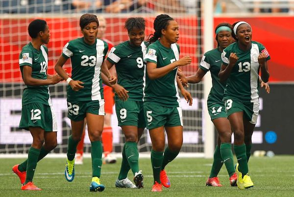 Image result for Super Falcons Of Nigeria 2016