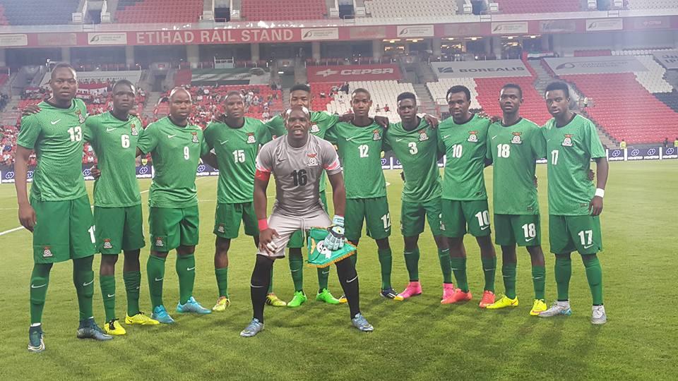 Zambia Name Final Squad For Super Eagles Clash