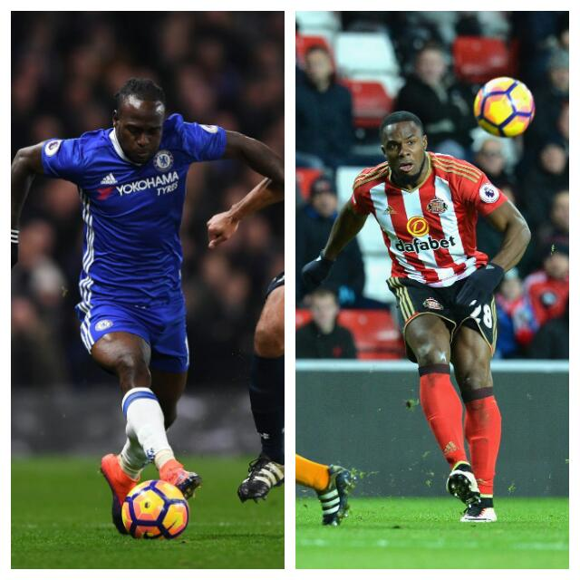 Moses, Anichebe Nominated For EPL Fans' Player Of November