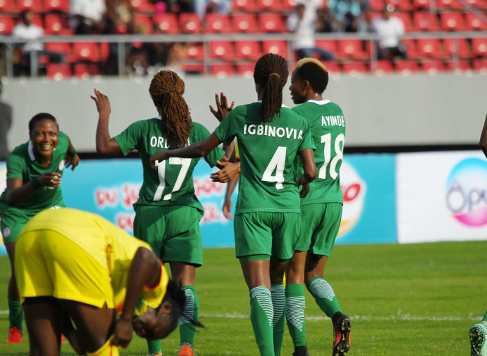 Oparanozie Fires Falcons Past Banyana Into AWCON Final