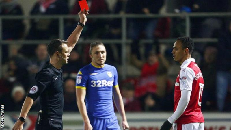 Odemwingie TWEETS During Rotherham Match After Red Card