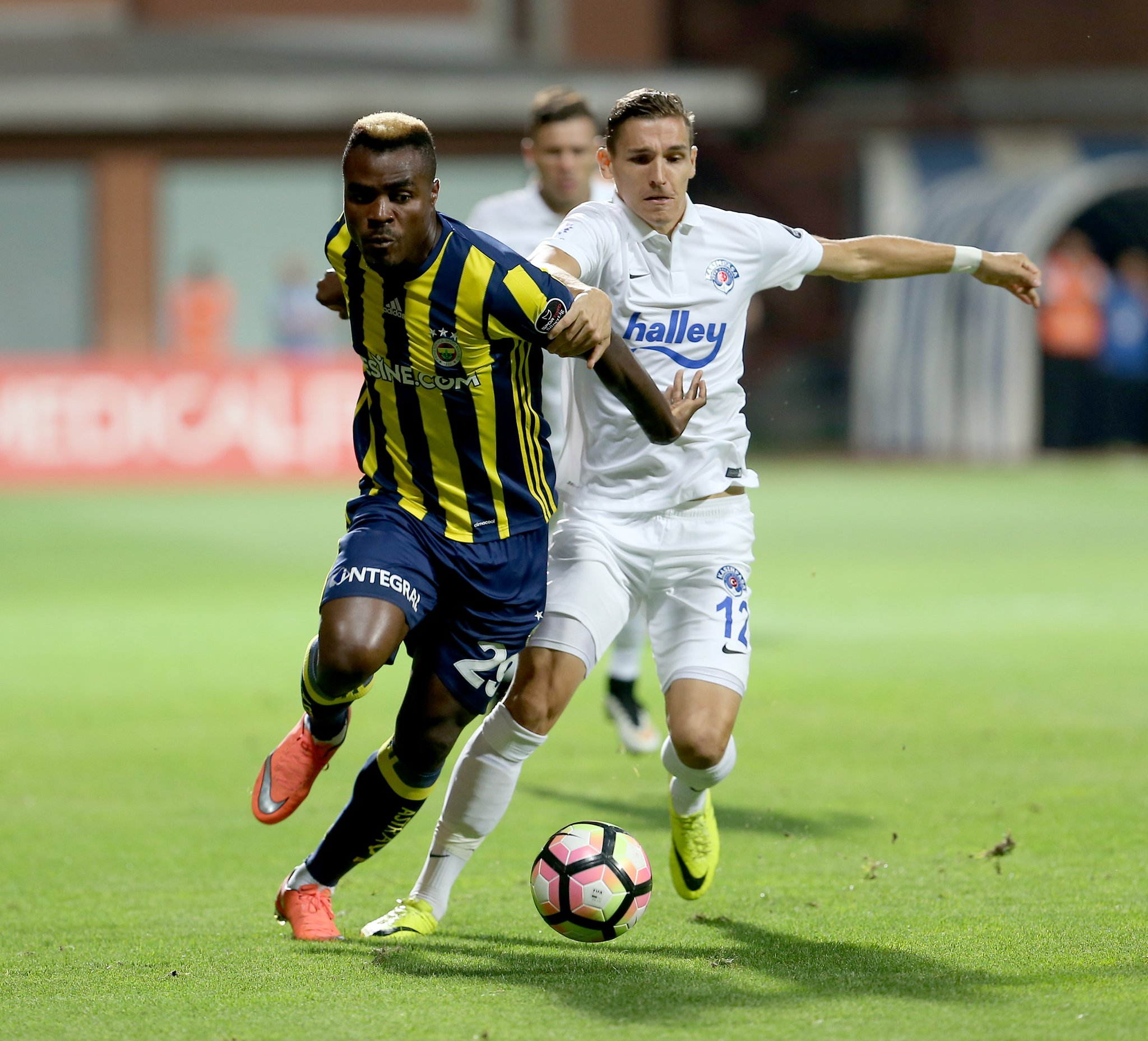 Europa: Emenike Subbed Off In Fenerbahce Win, Igiebor Loses With Maccabi