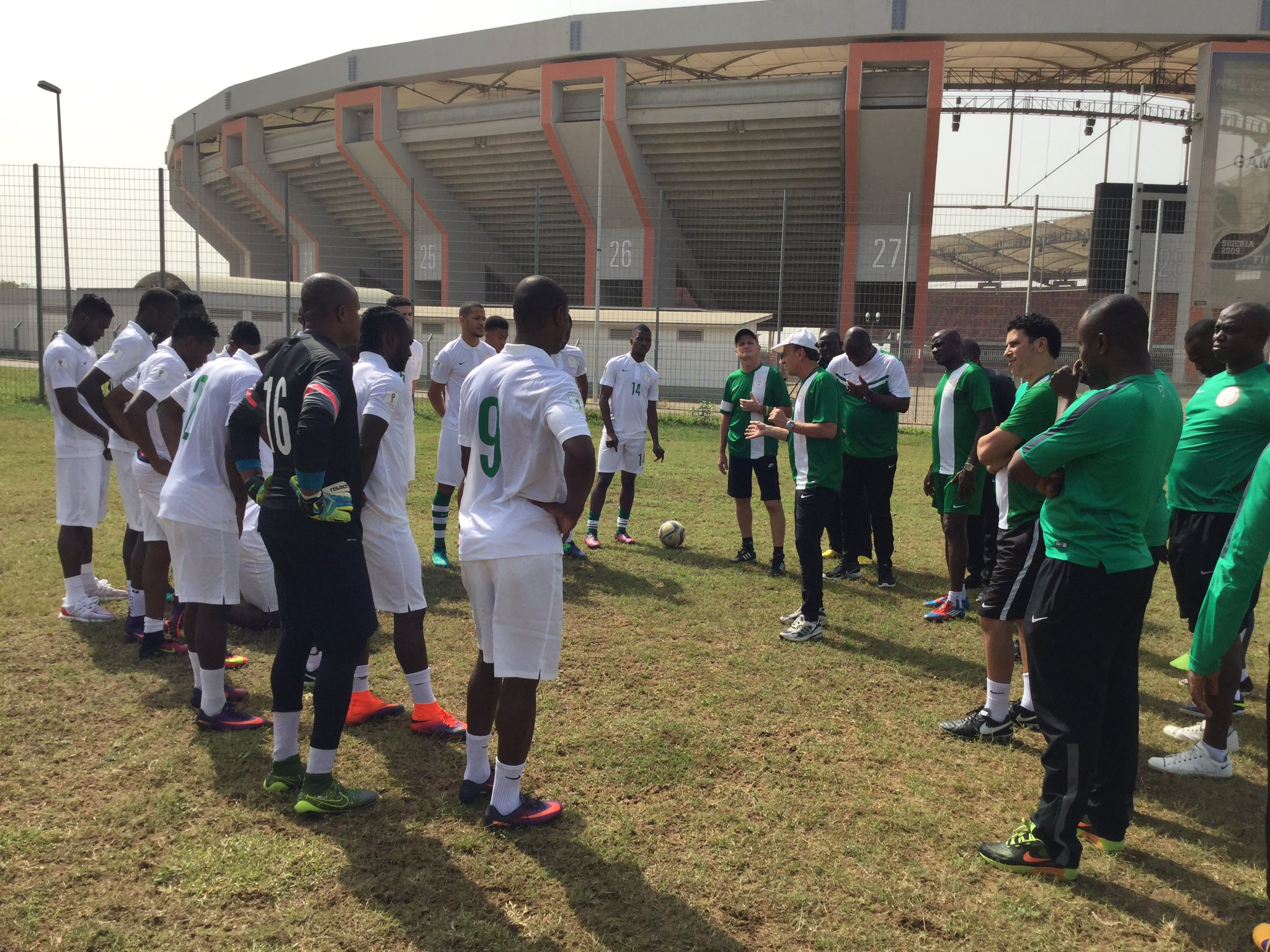 Rohr Confident, Explains Why Ideye, Balogun, Abdullahi Missed Training