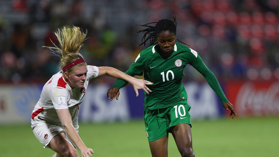 U-20 WWC: Falconets Bounce Back To Beat Canada