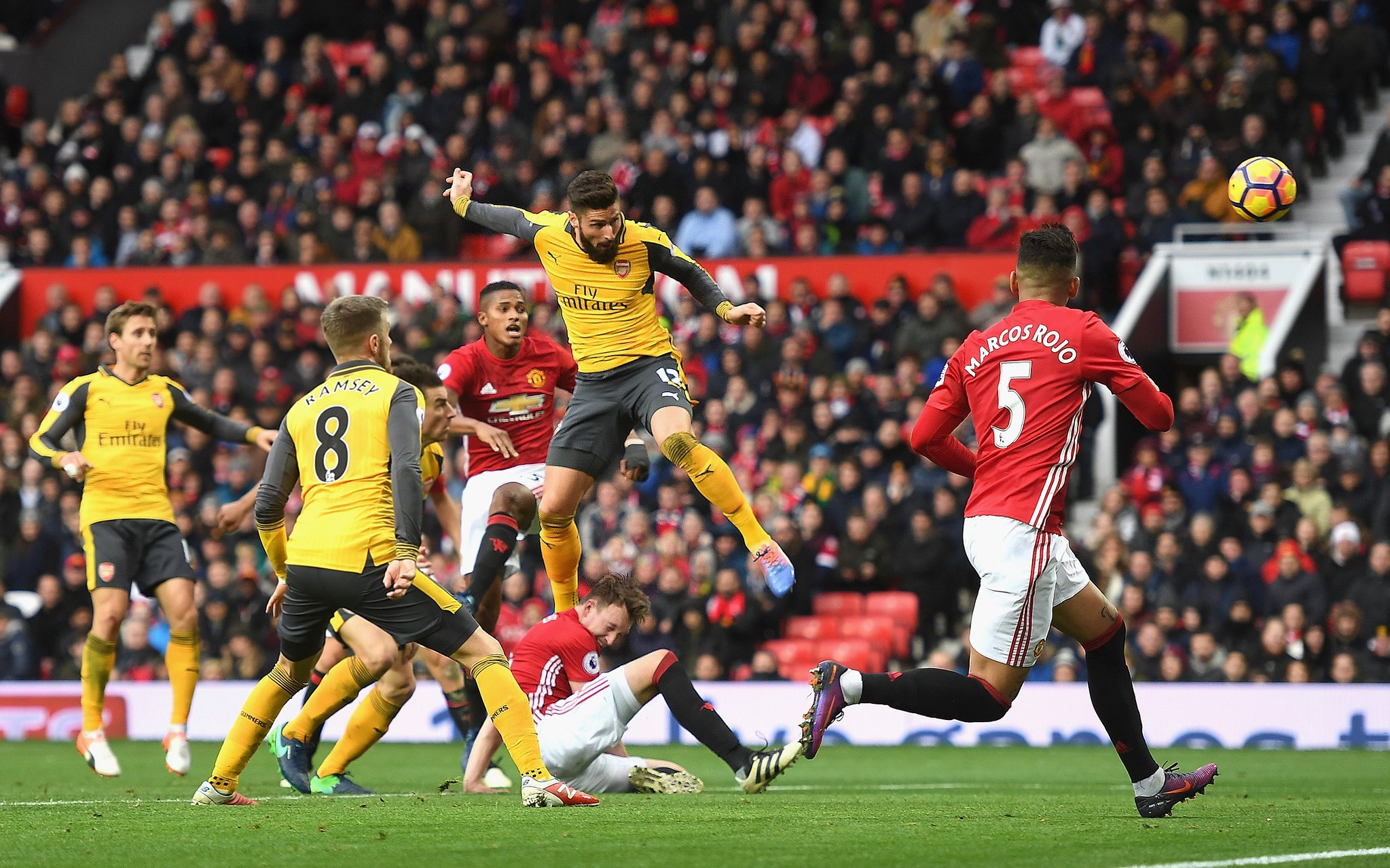 Wenger Relieved Arsenal Snatch Draw At Man United