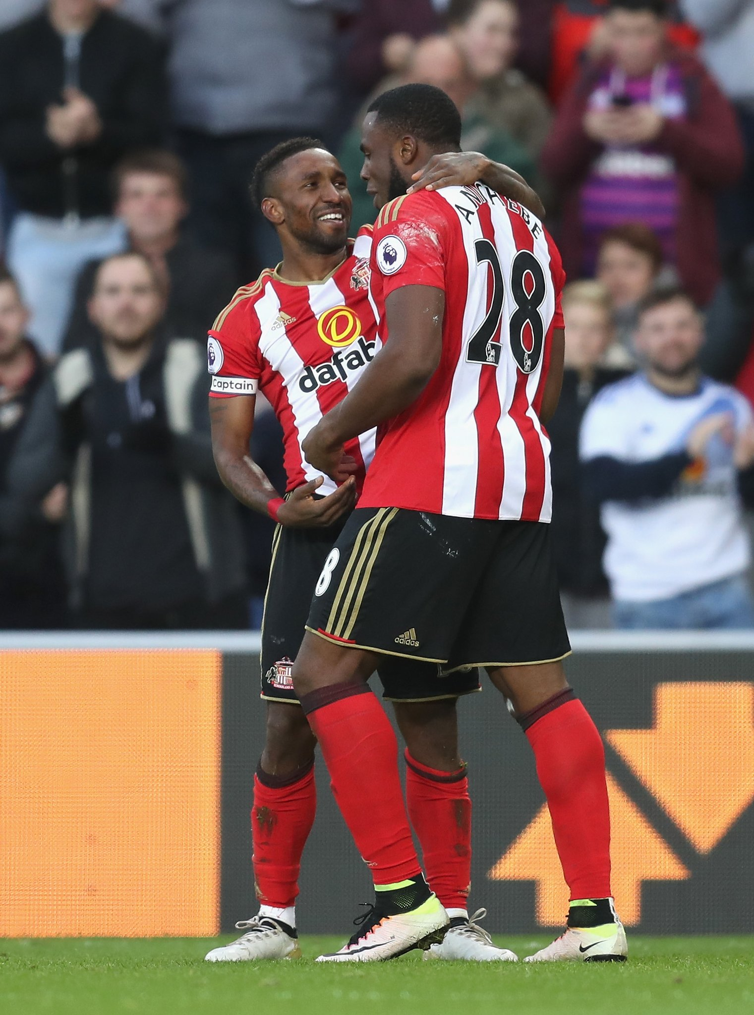 Moyes: Love From Sunderland Fans Helping Anichebe
