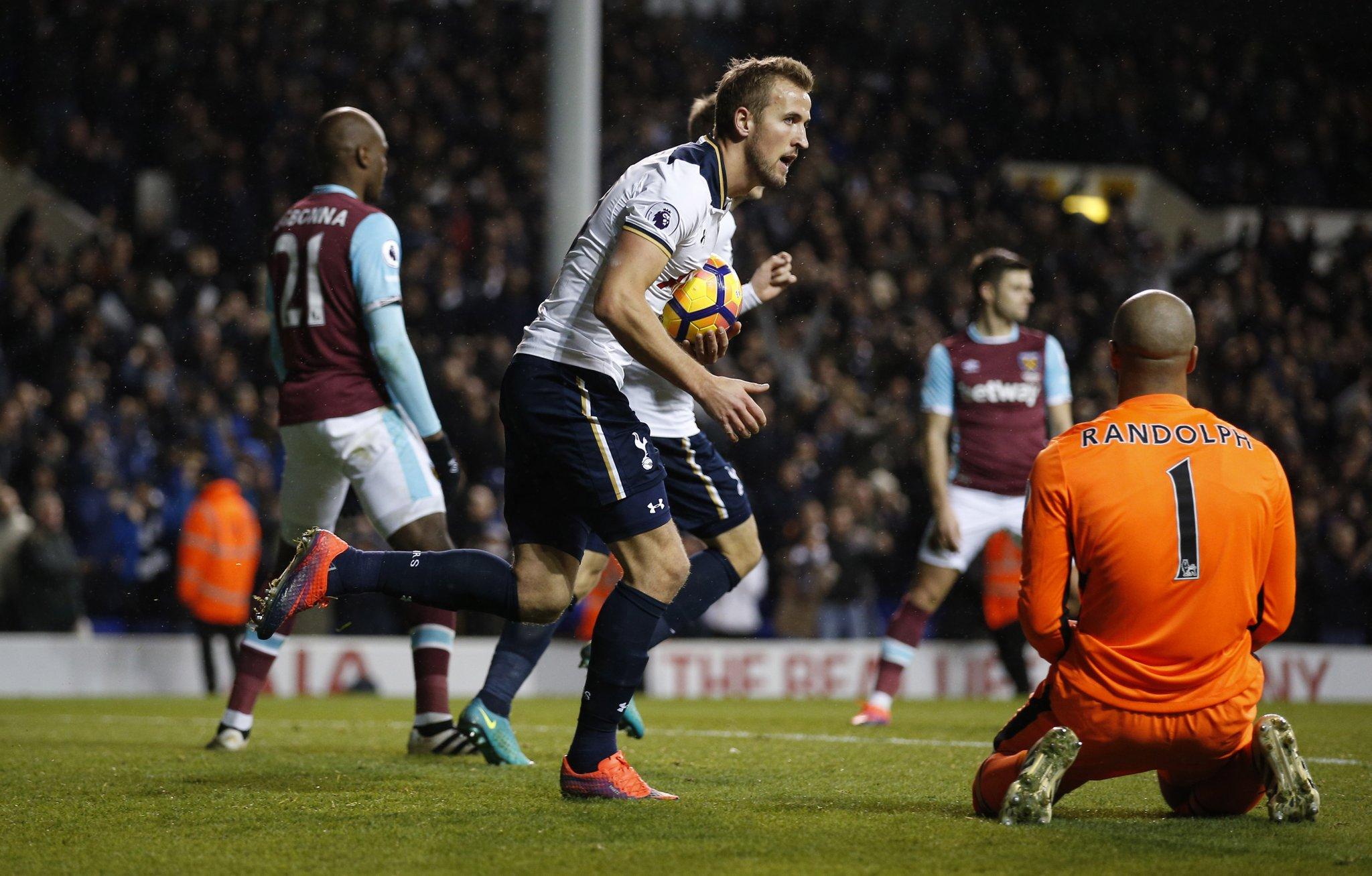 Kane Fires Late Brace As Tottenham Outscore West Ham
