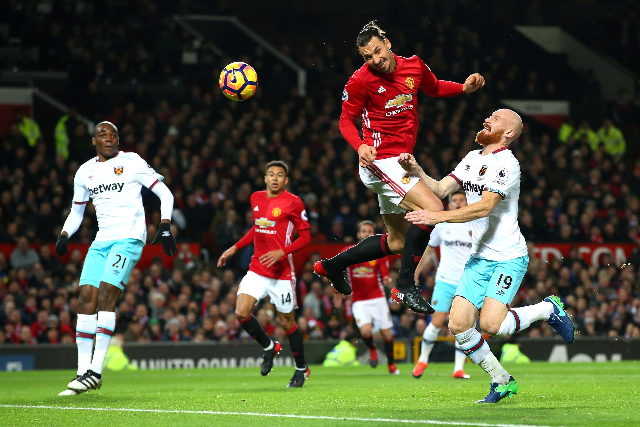 West Ham Force Man United To Fourth Straight Home Draw
