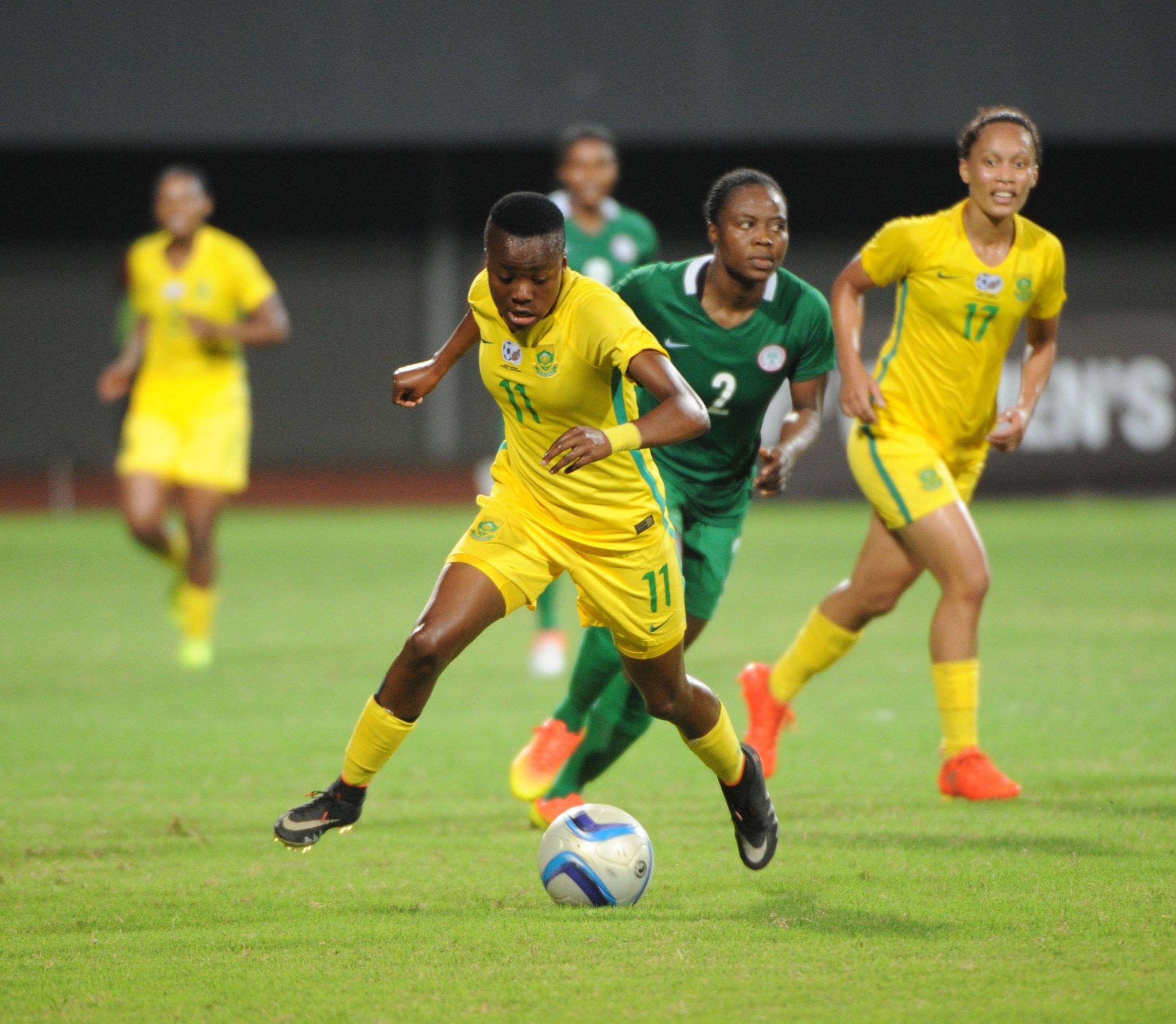 Banyana Captain: We Played Quality Football Vs Super Falcons