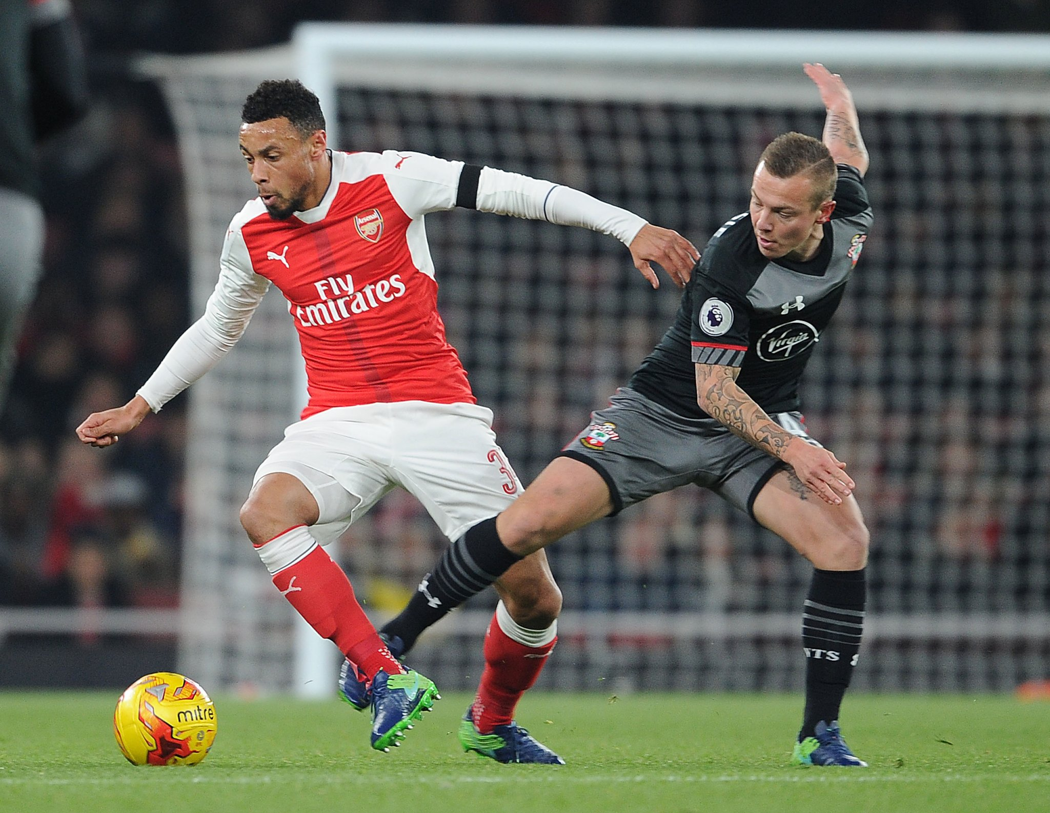 EFL Cup: Iwobi Starts As Southampton Knock Arsenal Out
