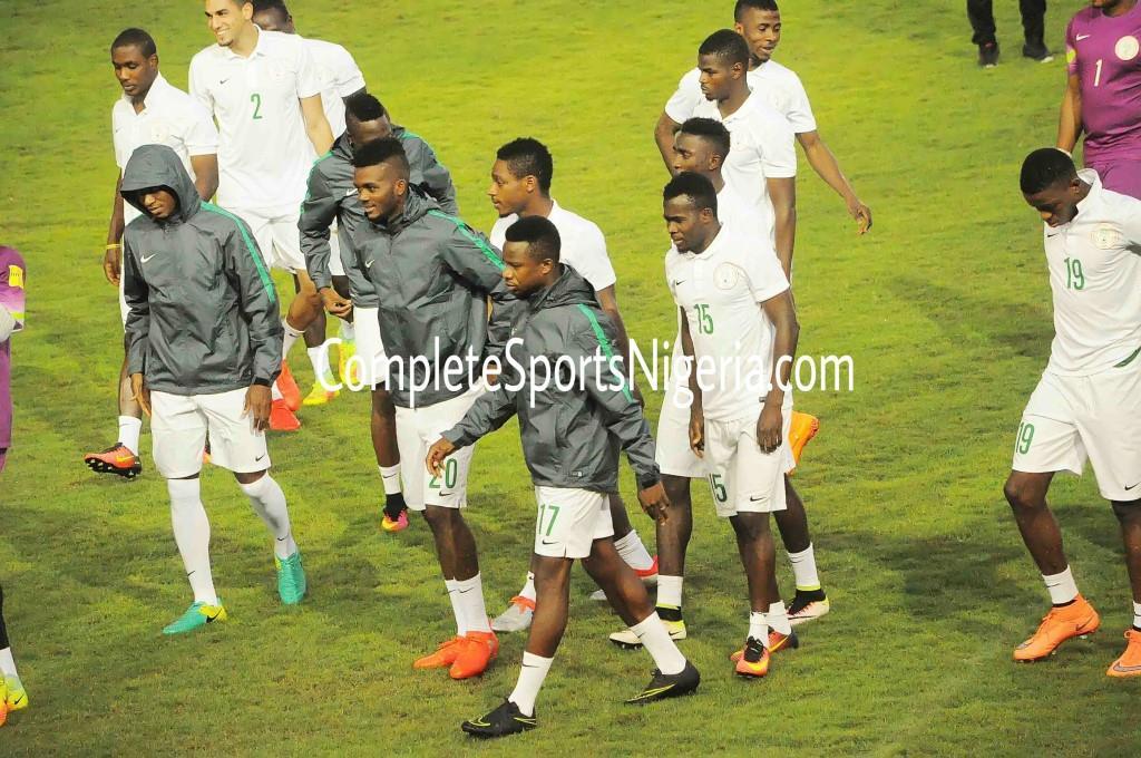 Confident Super Eagles Set To Fly Past Algeria
