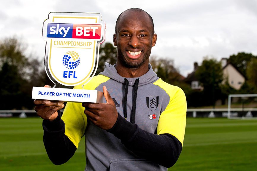 AlukoNamed English Championship Player Of The Month For October