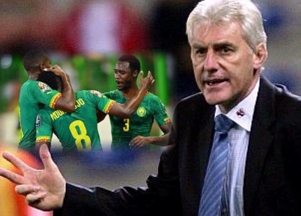 Cameroon coach, Broos: Two Matches Vs Nigeria Will Be Decisive