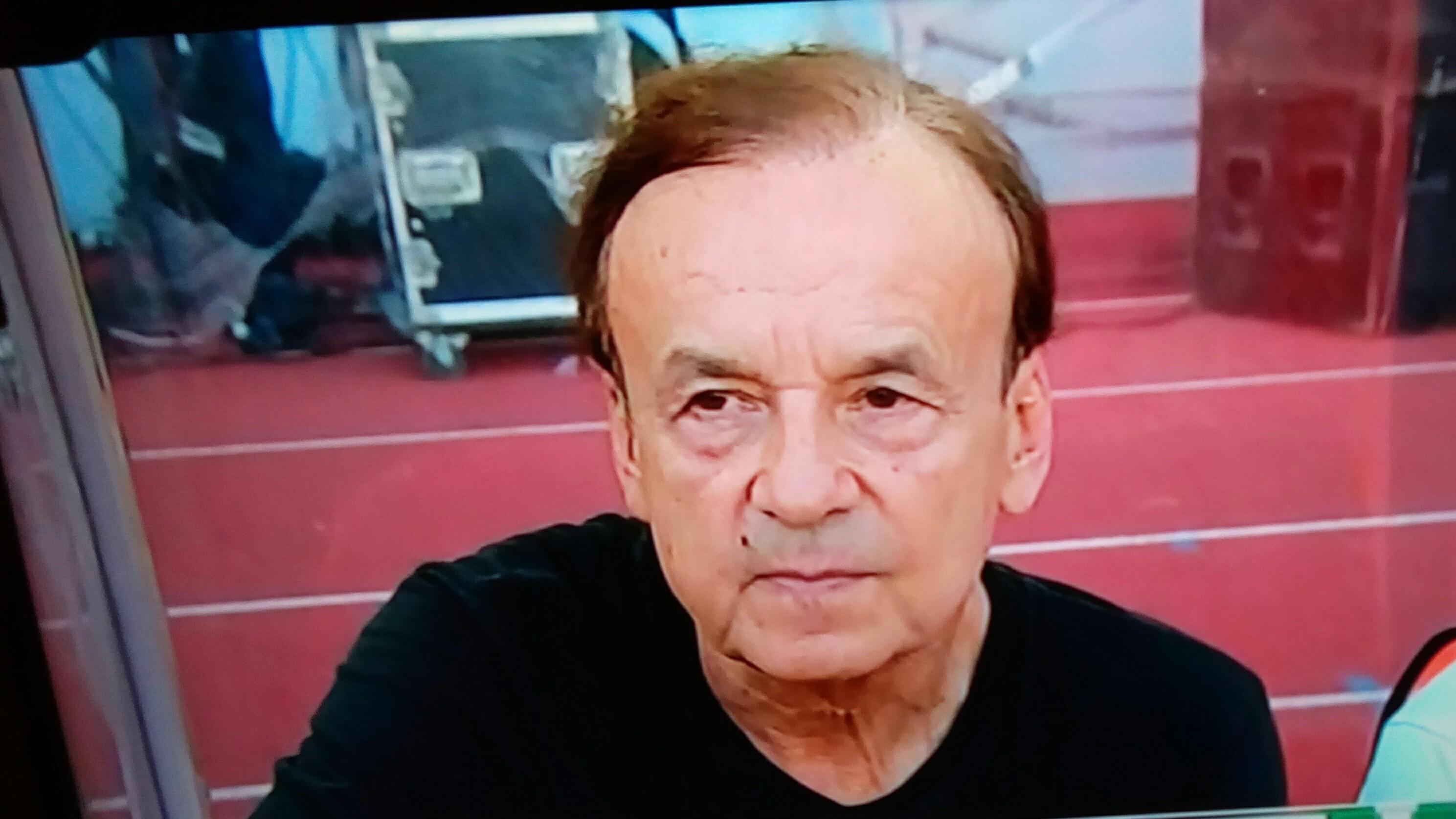 Rohr: I'm Proud Of Eagles; We Stopped Mahrez, Slimani