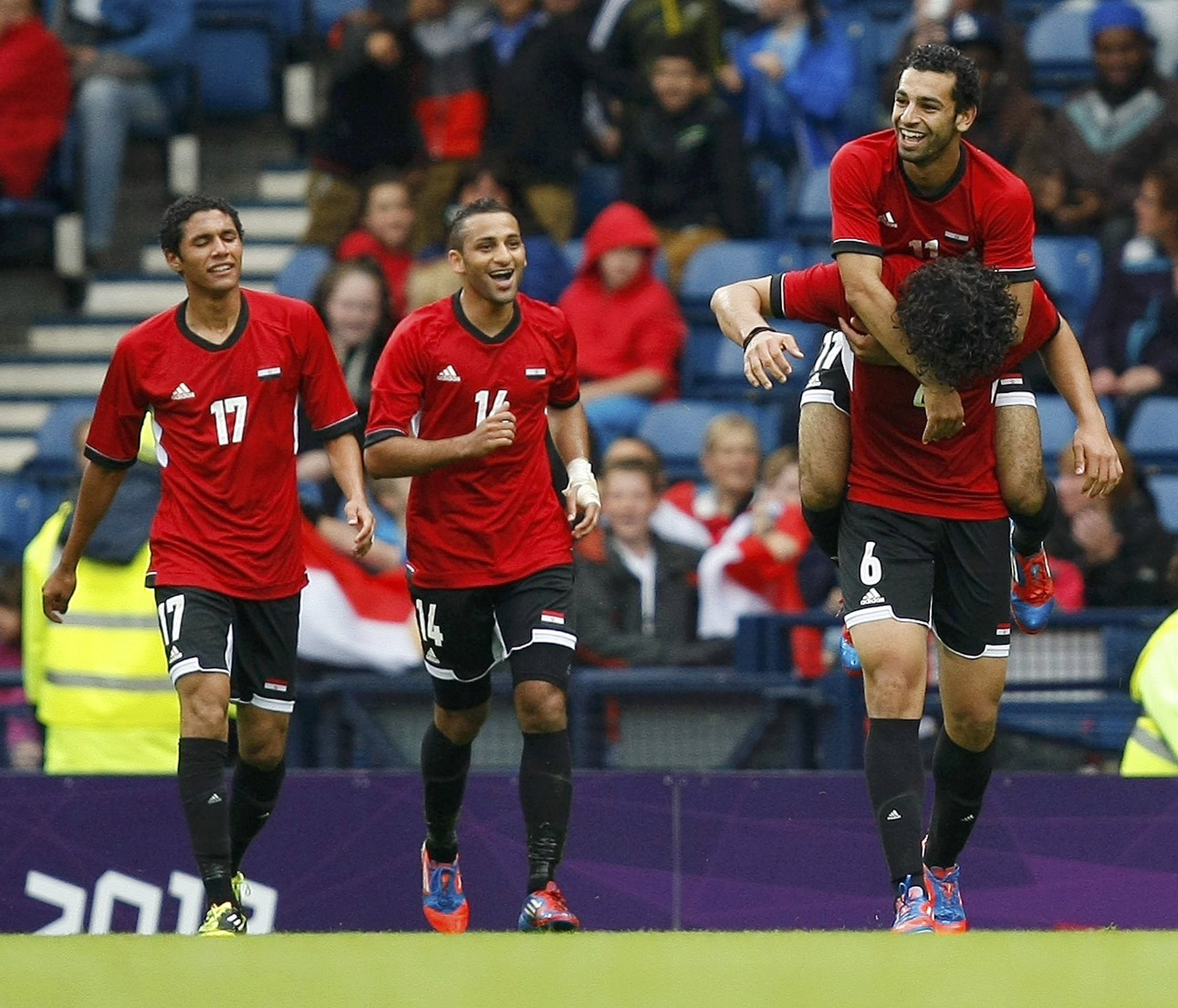 Russia 2018: Egypt Pip Ghana, Maintain Top Spot In Group E