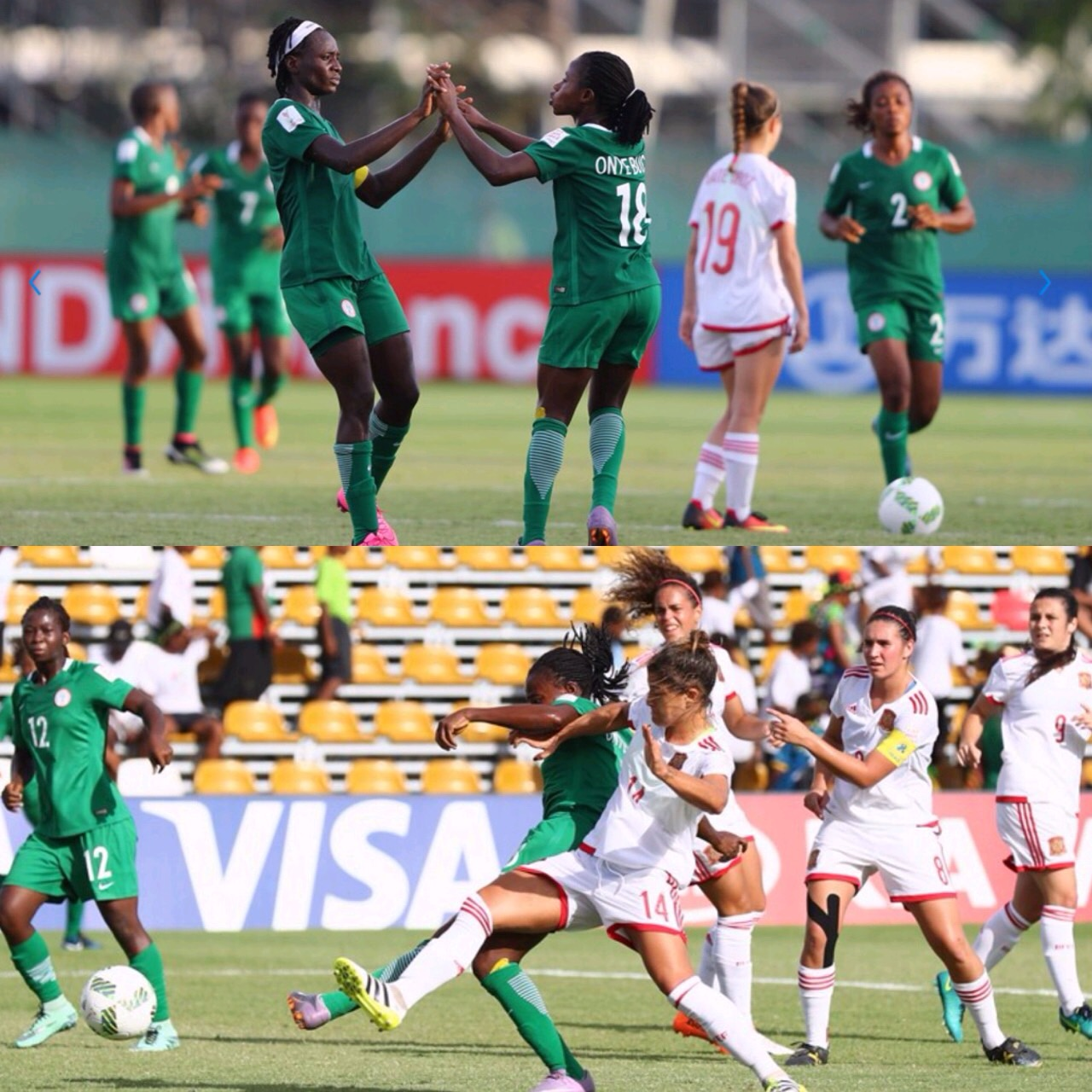 U-20 WWC: Unlucky Falconets Crash Out Despite Beating Spain