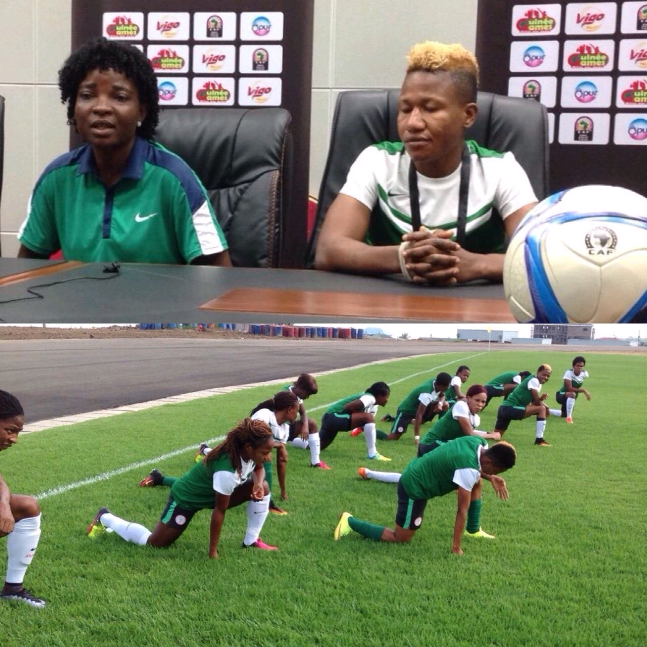 Other Team Sports: Omagbemi: Falcons Will Beat Ghana Like Any Other Team