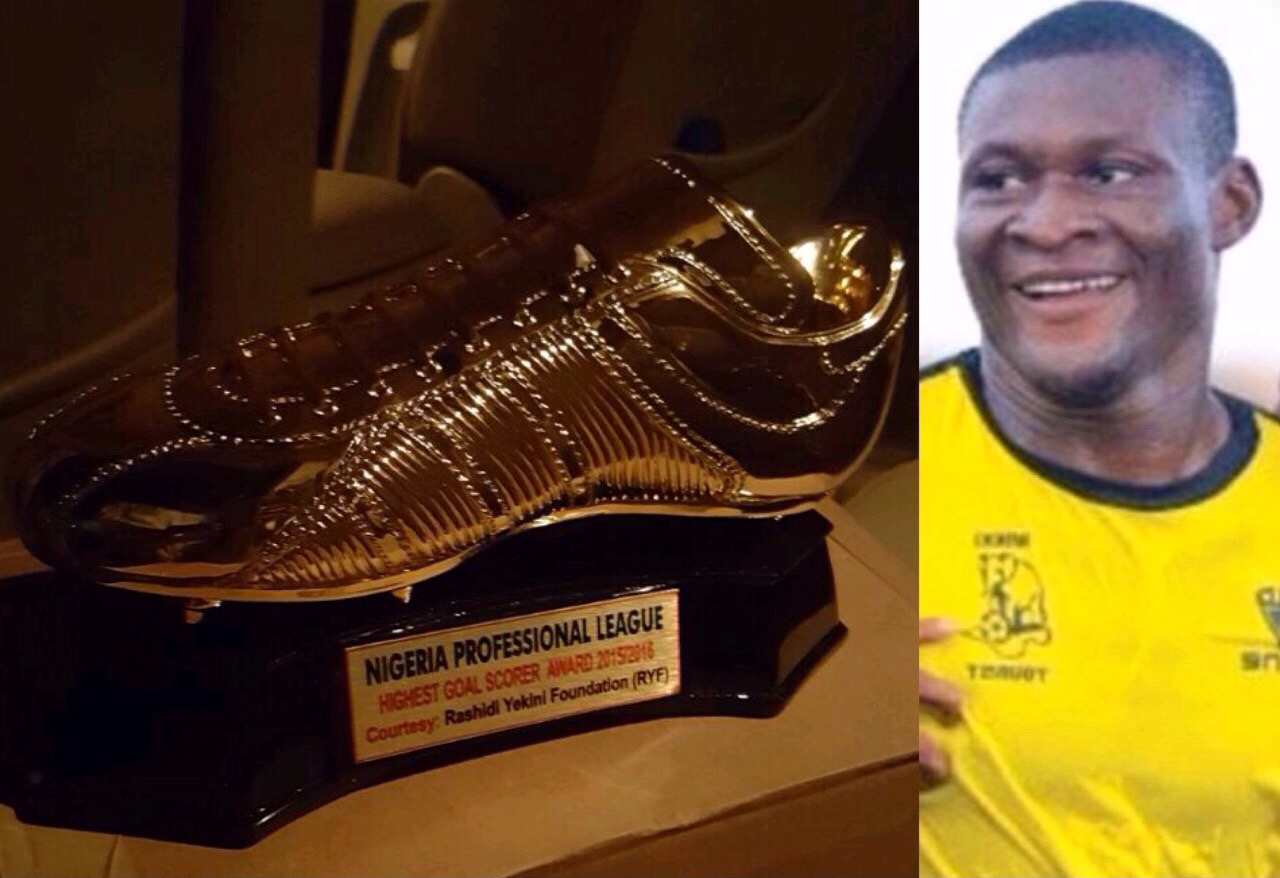 Obaje To Receive The 2nd Rashidi Yekini Top Scorer Award At Gold Cup Tourney