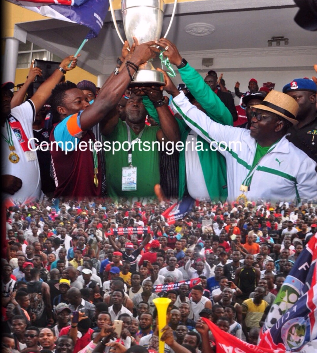 BREAKING: FC IfeanyiUbah Win 2016 Federation Cup