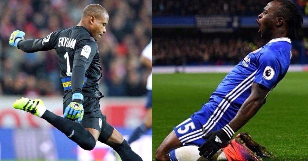 Enyeama Keeps Third Clean Sheet; Moses Shines, Ikeme Returns