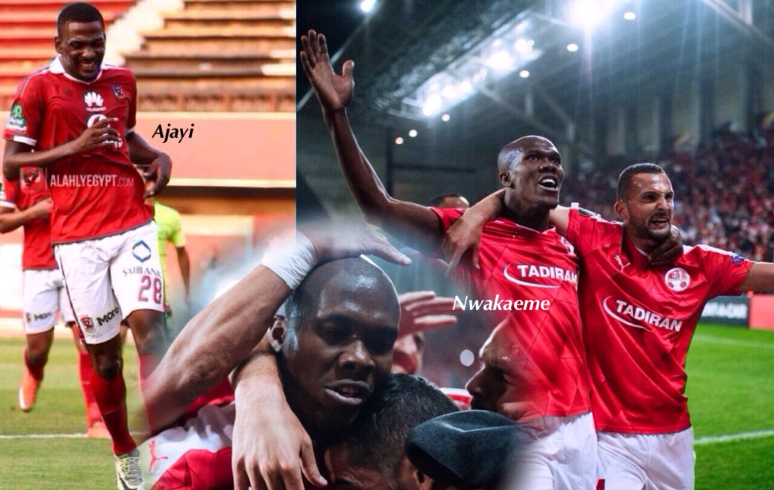 Ajayi, Nwakaeme Score As Al Ahly, Beer Sheva Win;  Ndidi, Oboabona Suffer Defeat
