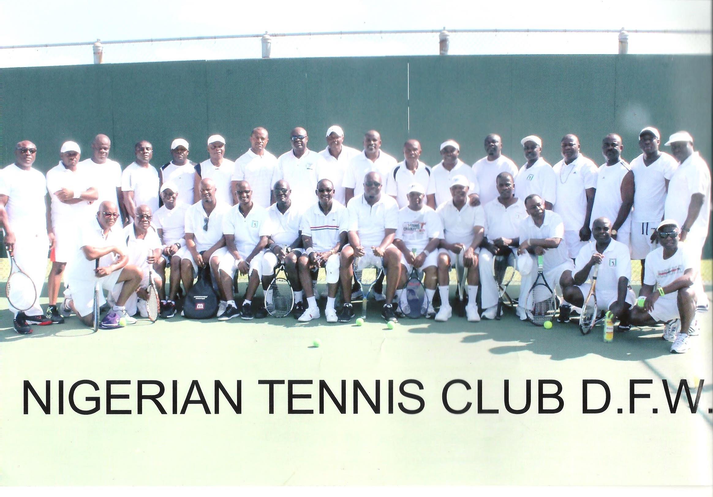 Nigerians Unveil Tennis Club In Dallas USA November 5
