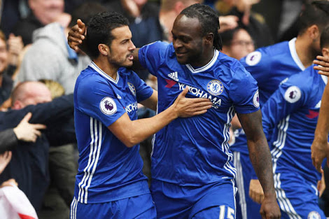 Moses, Sanchez In EPL Team Of The Week