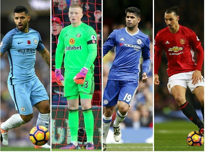 Costa, Aguero, Zlatan On EPL November Best Player Shortlist; Moses Out