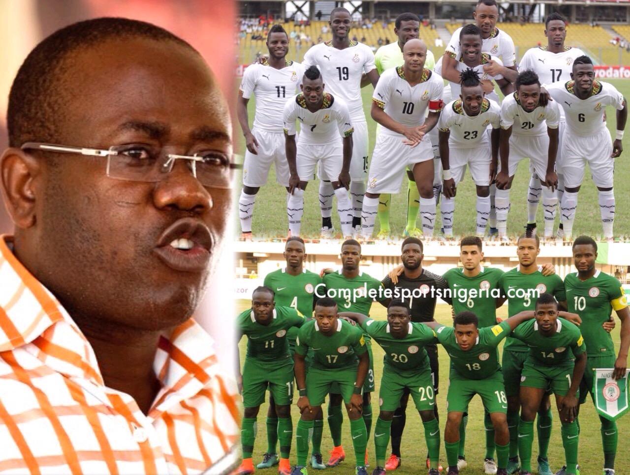 GFA Boss, Nyantaki: Nigeria, Ghana Rivalry Won't Stop; It's Good For Everyone
