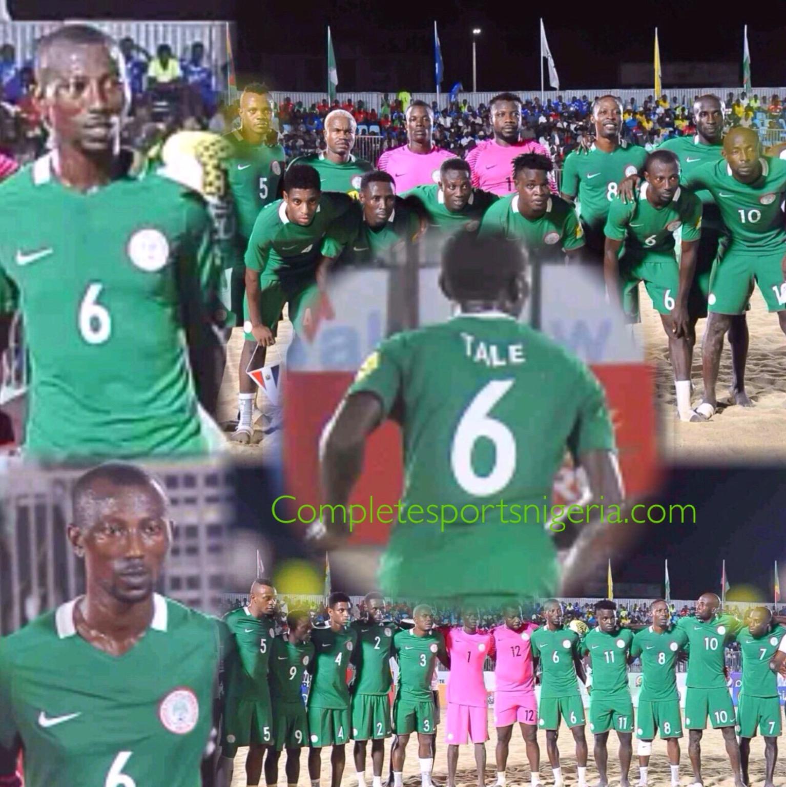 Sand Eagle, Tale Dedicates Killer Goal Vs Ghana To God