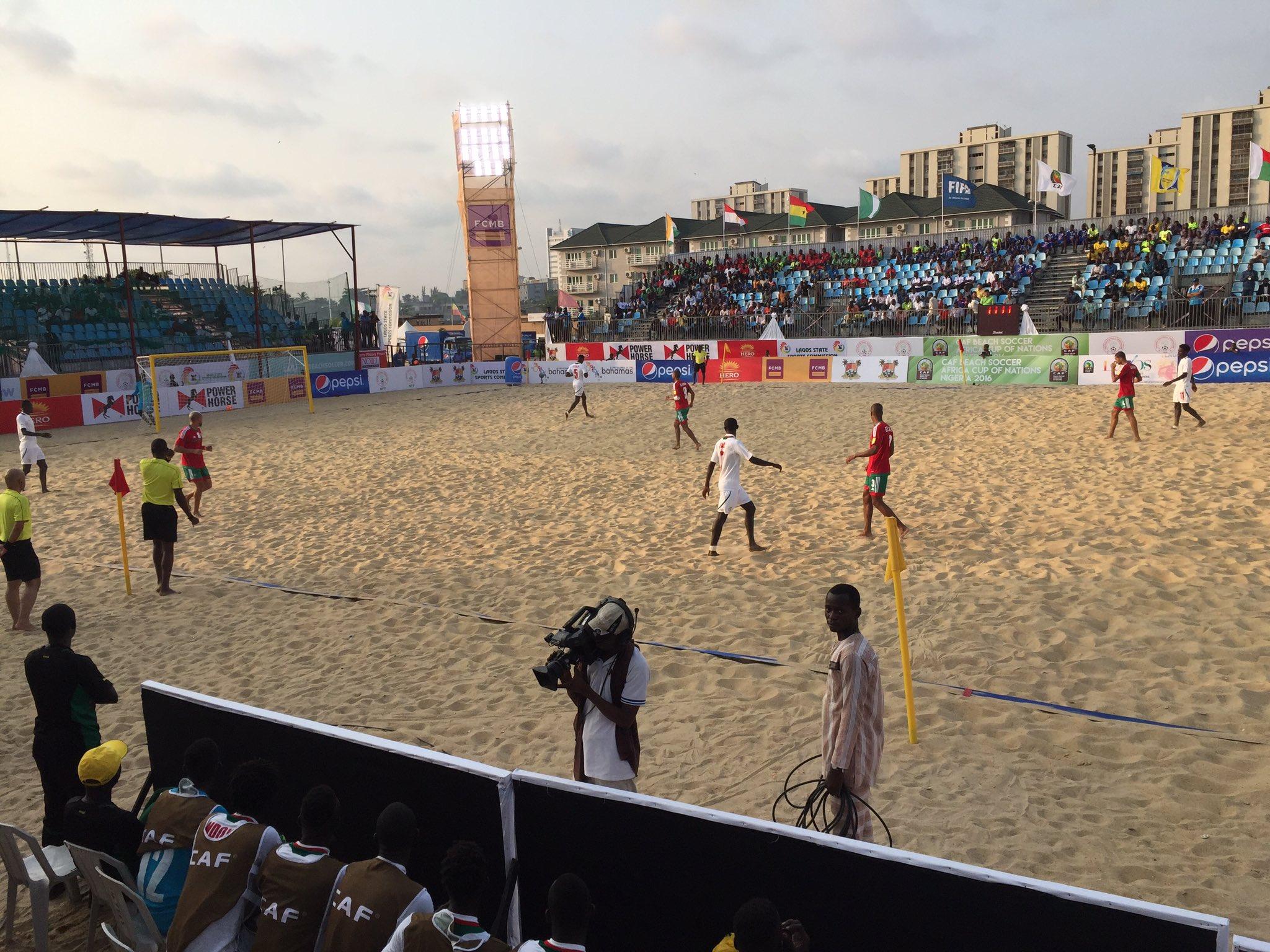 Beach AFCON: Senegal Pummel Libya, Zoom Into Semis With Top Record