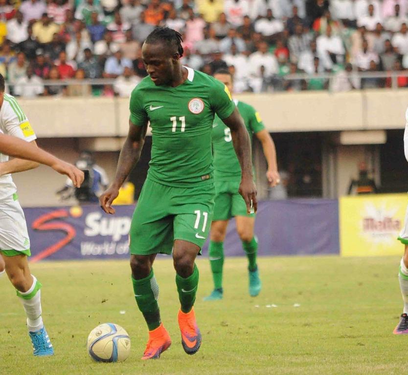 Moses May Miss Super Eagles Vs Senegal, Burkina Faso Over Injury