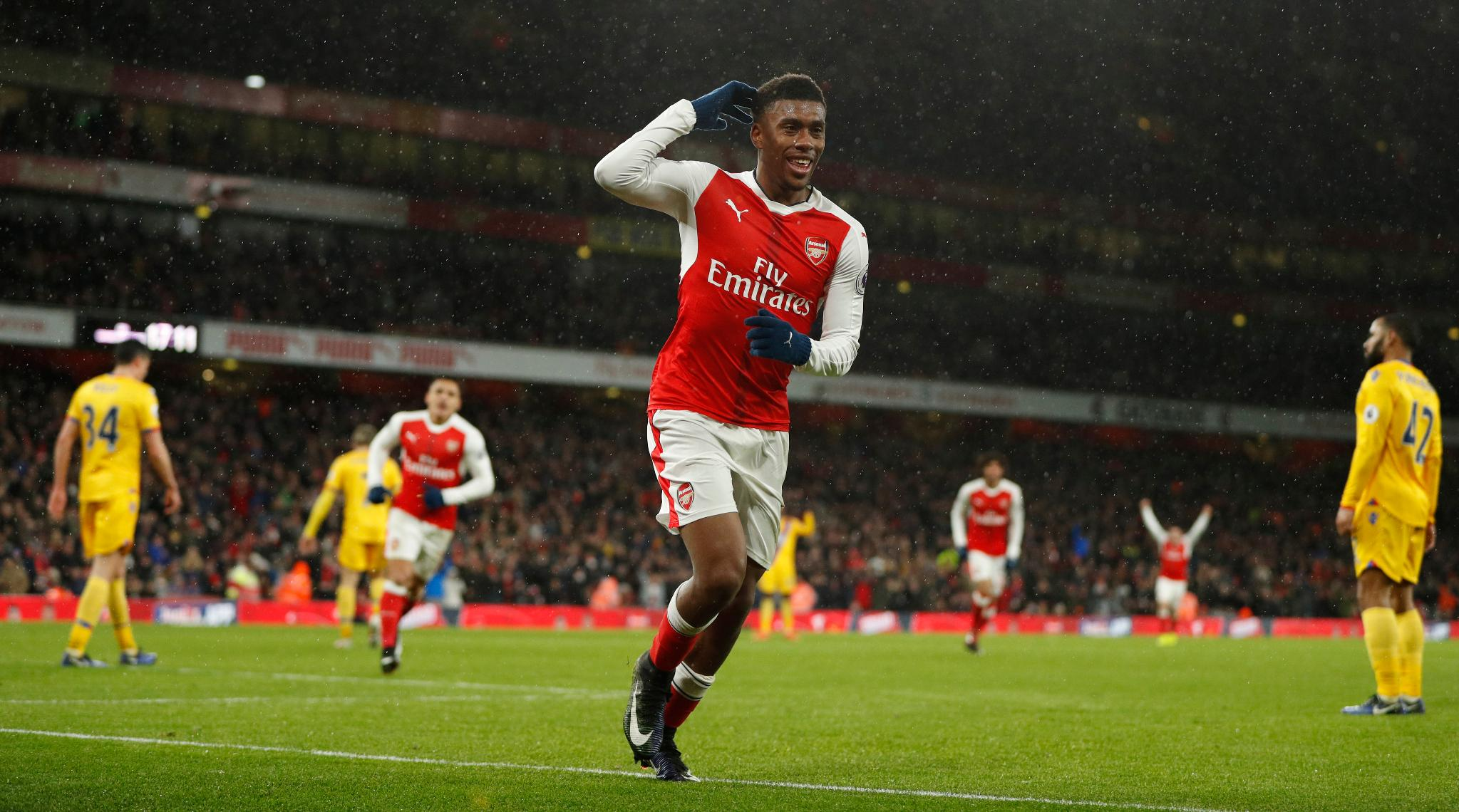 Iwobi Nominated For Arsenal Player Of The Month Award For January