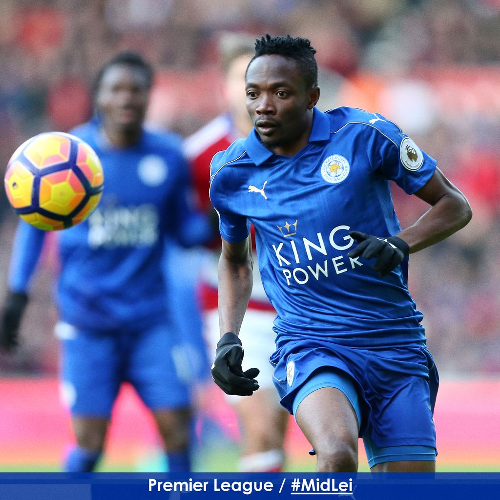 Musa Vows To Improve At Leicester After Poor First Season