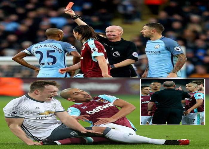 FA Rescind Feghouli Red Card, Give Fernandinho Four-Match Ban