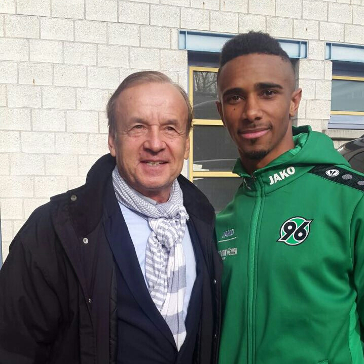 Rohr Meets With New Super Eagle, Bazee, In Germany