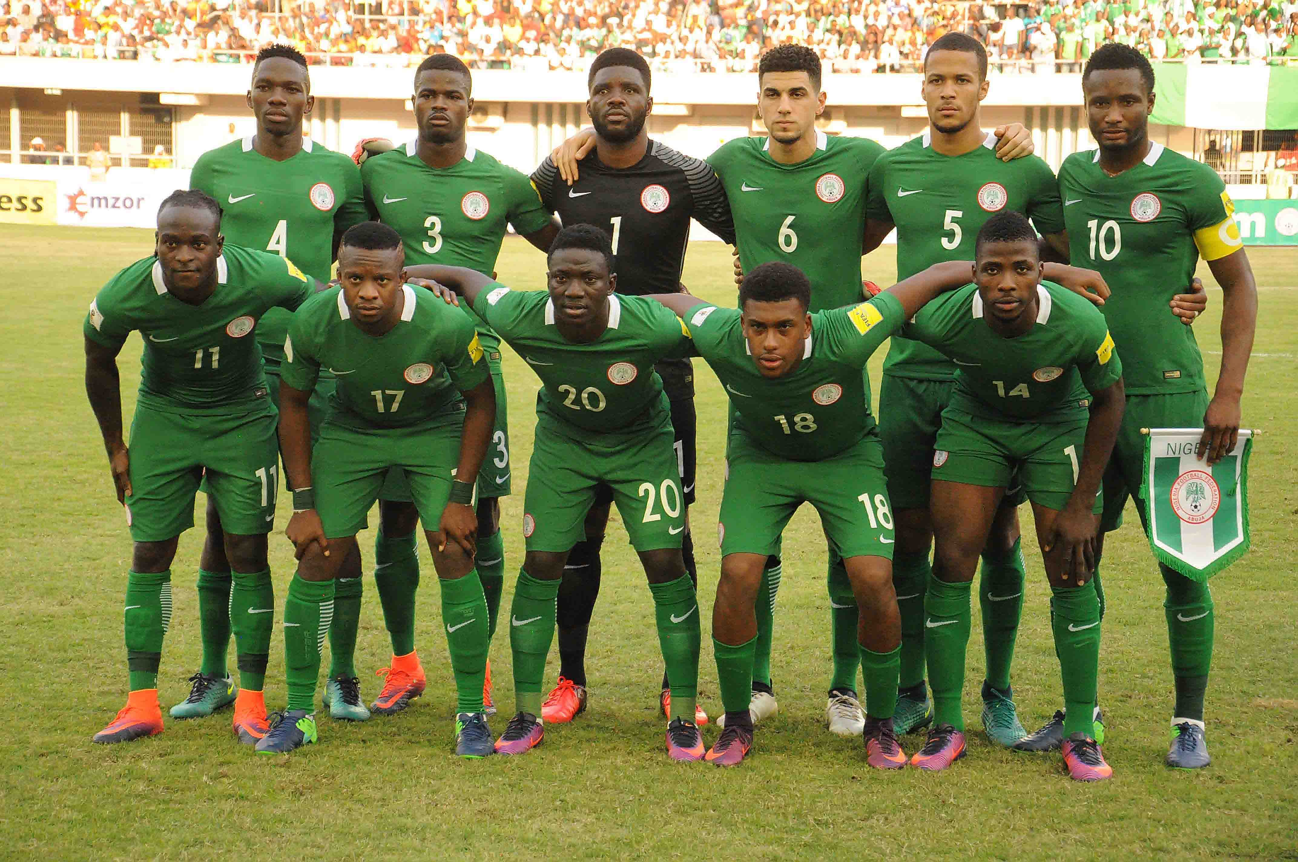 Nigeria Maintain 41st Spot, Cameroon Climb To 32nd In FIFA World Ranking