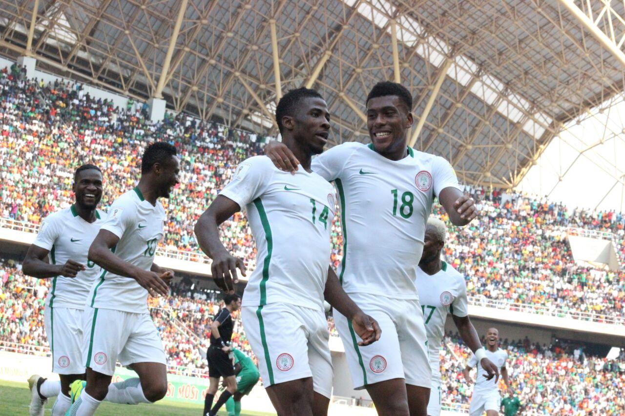 Iwobi, Ikeme, Onazi, Bazee Hit Super Eagles London Camp